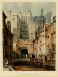 The North Gate of Durham by T.M. Richardson.